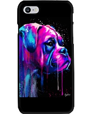 Boxer Poster Colorful Art Phone Case thumbnail
