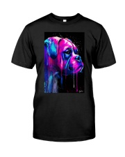 Boxer Poster Colorful Art Classic T-Shirt tile