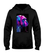 Boxer Poster Colorful Art Hooded Sweatshirt thumbnail
