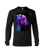 Boxer Poster Colorful Art Long Sleeve Tee tile