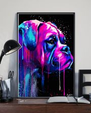 Boxer Poster Colorful Art 11x17 Poster lifestyle-poster-2
