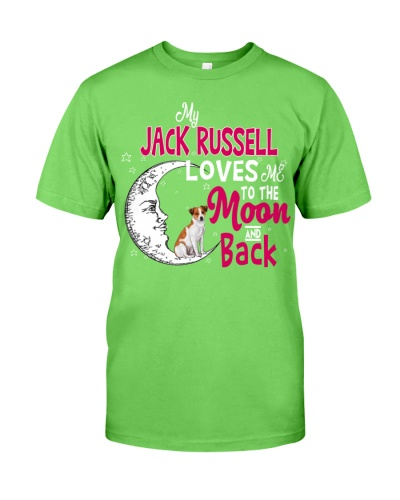 Jack Russell My Dog Loves Me To Ther Moon