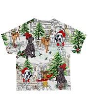 Great Dane  Christmas  All-over T-Shirt back