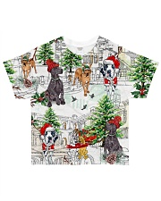 Great Dane  Christmas  All-over T-Shirt front