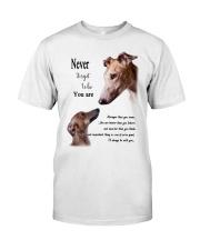 greyhound never4get Classic T-Shirt thumbnail