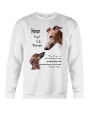 greyhound never4get Crewneck Sweatshirt thumbnail