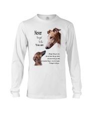 greyhound never4get Long Sleeve Tee thumbnail