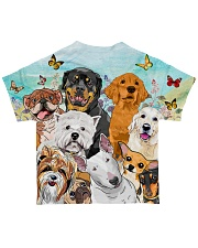 Dog All Over  All-over T-Shirt back