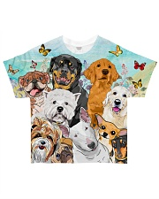 Dog All Over  All-over T-Shirt front