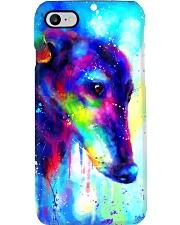 Greyhound Water Color Art Splash V123 Phone Case thumbnail