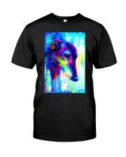 Greyhound Water Color Art Splash V123 Classic T-Shirt thumbnail