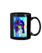 Greyhound Water Color Art Splash V123 Mug thumbnail