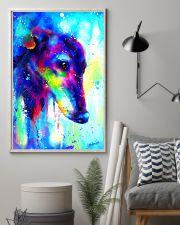 Greyhound Water Color Art Splash V123 16x24 Poster lifestyle-poster-1