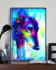 Greyhound Water Color Art Splash V123 16x24 Poster lifestyle-poster-2