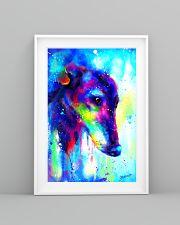 Greyhound Water Color Art Splash V123 16x24 Poster lifestyle-poster-5