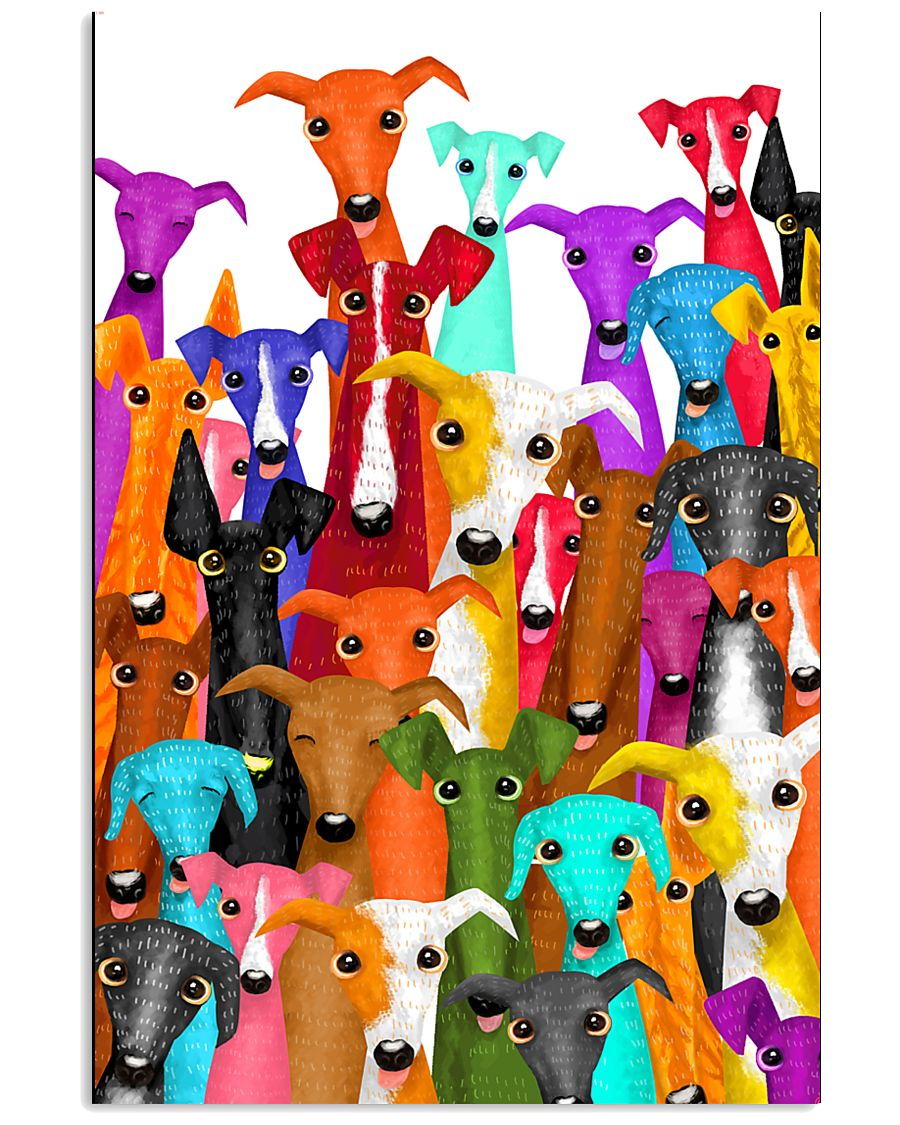 Greyhound Multi 11x17 Poster