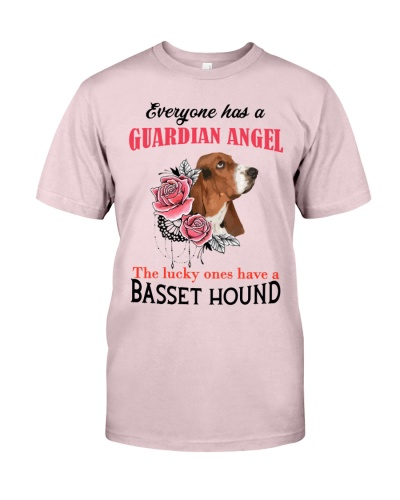 Basset Hound Guardian Angel