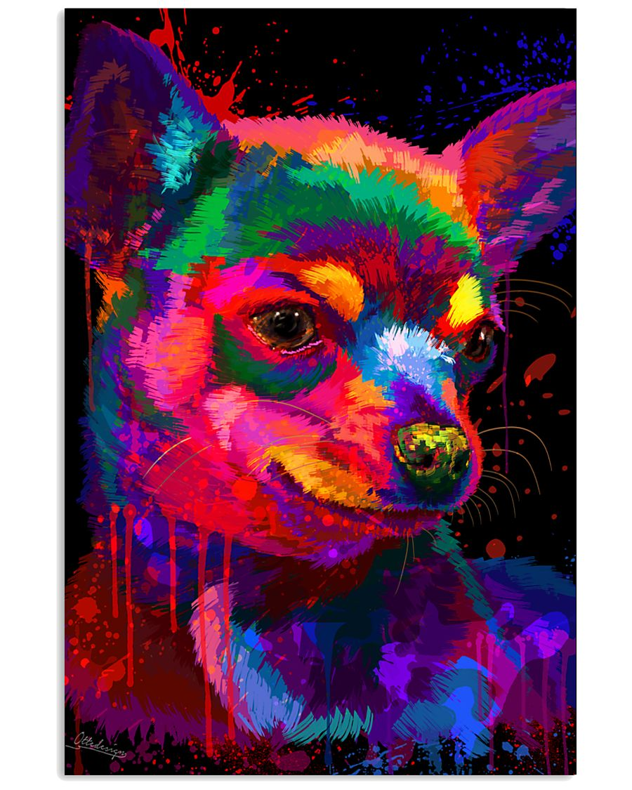 Chihuahua Water Color 24x36 Poster