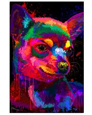 Chihuahua Water Color 24x36 Poster front