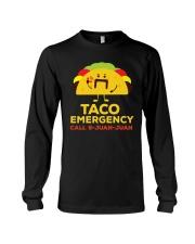 Emergency Call 9 Juan Juan Funny T-Shirt Long Sleeve Tee thumbnail