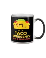 Emergency Call 9 Juan Juan Funny T-Shirt Color Changing Mug thumbnail