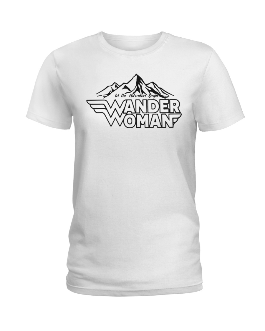Wander Woman Unisex T-Shirt Ladies T-Shirt