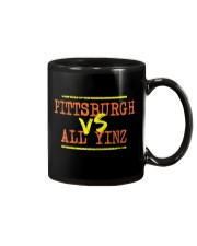 Pittsburgh vs All Yinz Tee Shirt Mug thumbnail