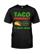 Taco Emergency Call 9 Juan Juan Tees Classic T-Shirt thumbnail