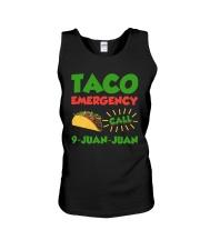 Taco Emergency Call 9 Juan Juan Tees Unisex Tank thumbnail