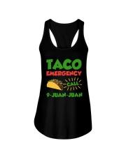 Taco Emergency Call 9 Juan Juan Tees Ladies Flowy Tank thumbnail