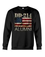 DD-214 Alumni American Flag Shirt Crewneck Sweatshirt thumbnail