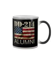 DD-214 Alumni American Flag Shirt Color Changing Mug thumbnail