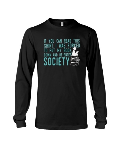 Reading Shirt Book Lover's T-Shirt