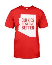 Our Kids Deserve Better T-Shirt Premium Fit Mens Tee thumbnail