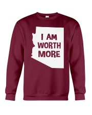 I Am Worth More T-Shirt Crewneck Sweatshirt thumbnail