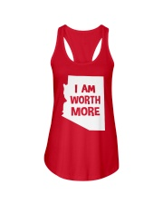 I Am Worth More T-Shirt Ladies Flowy Tank thumbnail