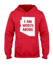 I Am Worth More T-Shirt Hooded Sweatshirt thumbnail