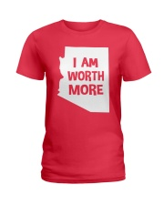 I Am Worth More T-Shirt Ladies T-Shirt thumbnail
