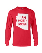 I Am Worth More T-Shirt Long Sleeve Tee thumbnail