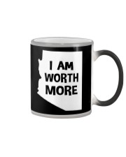 I Am Worth More T-Shirt Color Changing Mug thumbnail