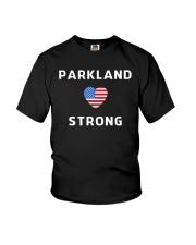 Parkland Strong American Flag T-Shirt Youth T-Shirt thumbnail