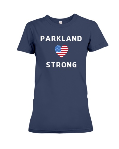 Parkland Strong American Flag T-Shirt