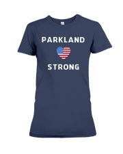 Parkland Strong American Flag T-Shirt Premium Fit Ladies Tee front