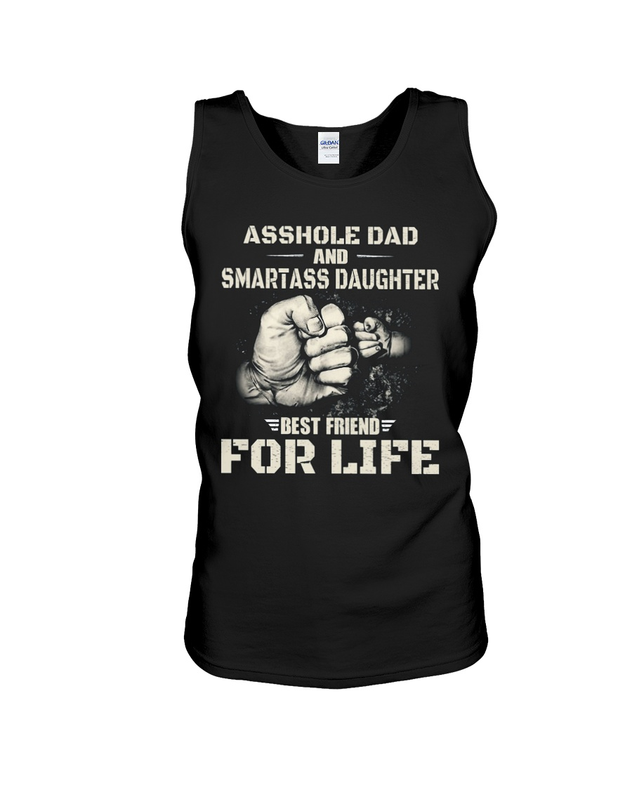 Daughter Best Friend For Life T-Shirt Unisex Tank