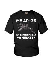 My AR15 Self Identifies Unisex T-Shirt Youth T-Shirt thumbnail