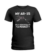 My AR15 Self Identifies Unisex T-Shirt Ladies T-Shirt front