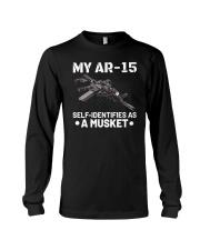 My AR15 Self Identifies Unisex T-Shirt Long Sleeve Tee thumbnail