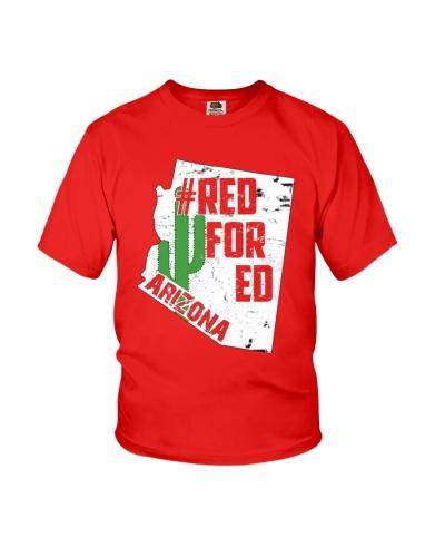 Arizona Teacher Shirt Red For Ed