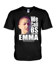 We Call BS March For Our Lives Shirt V-Neck T-Shirt thumbnail