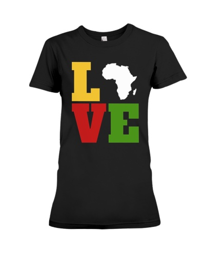 Love Black History Month T-Shirt